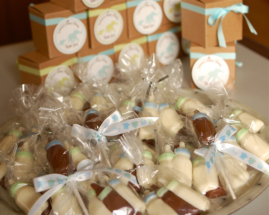 favors, ready to be packaged