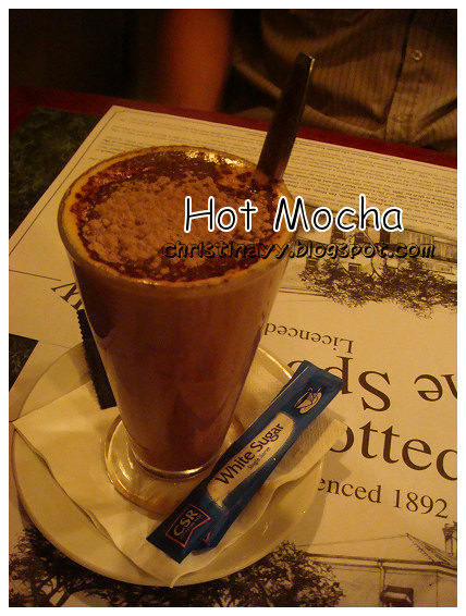 The Spotted Cow: Hot Mocha
