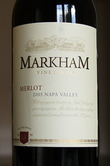 Markham Vineyards Merlot Wine