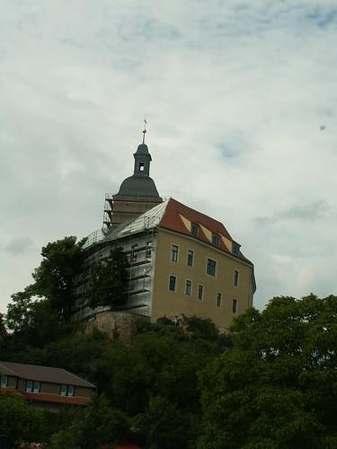 Schloss Hirschstein (auch Neuhirschstein) nahe Diesbar-Seußlitz