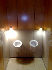 Urinals (Si Jobling) Tags: lighting london restaurant furniture urinals toilets asiadecuba ifttt:destination=dropbox