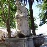 fuente con ninfa y sátiro,Dubrovnik,Croacia thumbnail
