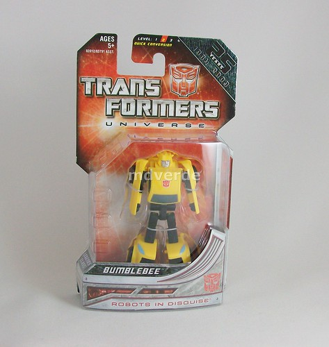 Transformers Bumblebee Universe Legend - caja