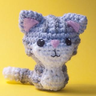 Amigurumi Tabby Cat : Ravelry: Crocheted Tabby Kitty Amigurumi Cat Pattern ...
