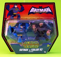 Batman vs Kanjar Ro Carded