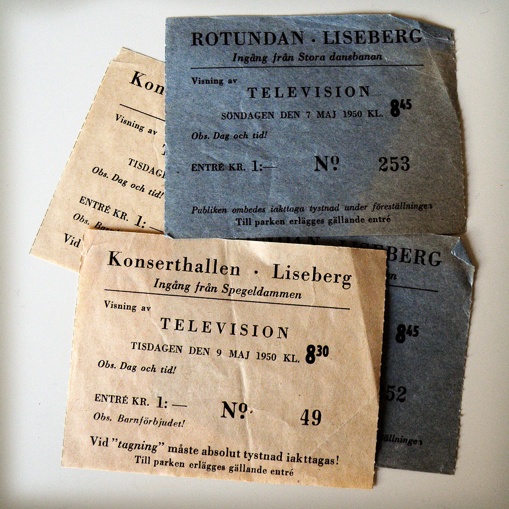 Television tickets