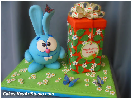 GoGoRiki / Smeshariki Cake