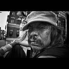 Sparky   DDH=U/S (enilffo raeppa photography) Tags: poverty bw canada ottawa homeless wideangle crack nativeamerican alcohol edge inuit society upcloseandpersonal sansabris drogue platinumphoto pauvrety raeppa enilffo