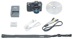 Canon G11 -- Included Accessories