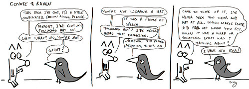366 Cartoons - 213 - Coyote and Raven