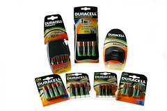 Duracell Chargers and Rechargeable Cells