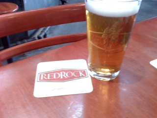 Beer #1 @ red rock brewing co.