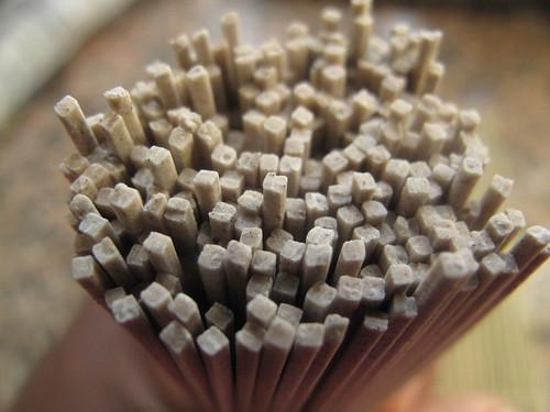 Square noodles