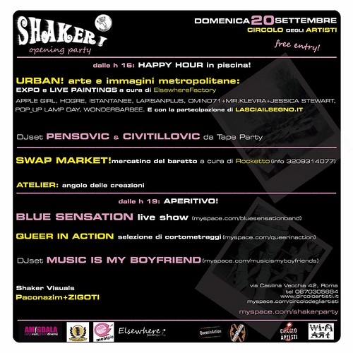 SHAKER! 20 SETT RETRO WEB