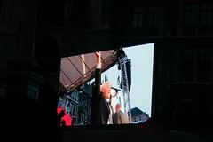 Steinmeier erreicht die Bühne