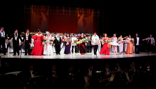 Stars of Philippine Classical music onstage with Mrs. Marcos ...
