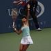 US Open 2009 Su-wei Hsieh 謝淑薇 serve