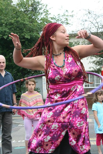 Guerilla Hooping & Fashion Show