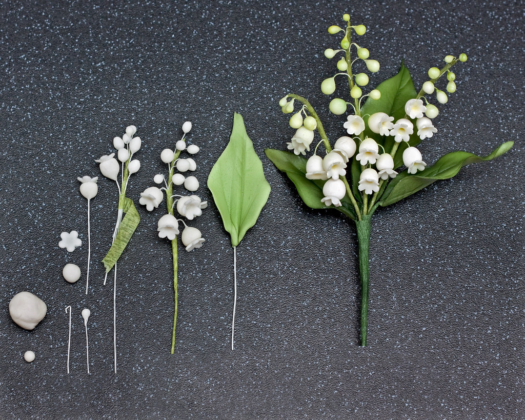 The worlds best photos of edible and sugarcraft flickr hive mind how to make a lily of the valley in sugar snowflake70 tags flower izmirmasajfo
