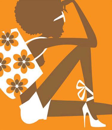 paul oakley orange and brown girl