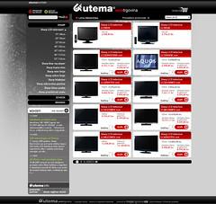 Utema web-shop layout