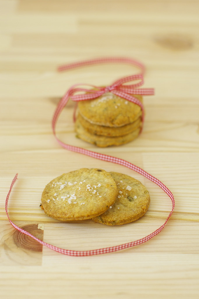 Crackers fenouil et huile d'olive