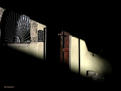 light Games (clik_emotion( edificatore di emozioni )) Tags: door light italy house window casa centro ombre finestra luci portone storico shodows domodossola abitazione clikemotion