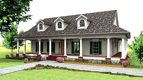 Southern Country House Design