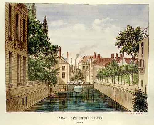 008- Canal de las Hermanas Negras-Lille ancien monumental Edouard Boldoduc  1893