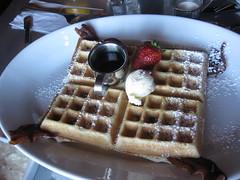 Hash House A Go Go - Bacon Waffle
