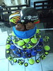 Grave Digger (fun2decoratecakes) Tags: birthday tower grave cake first cupcake digger monstertruck cupcaketower