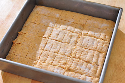 shortbread cooling