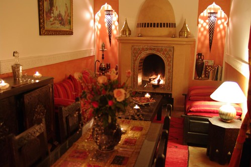 living room riad jona marrakech morocco