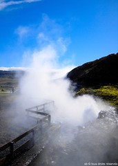 Hot Water Iceland (Olympe B.) Tags: hot water eau islande icland daarklands