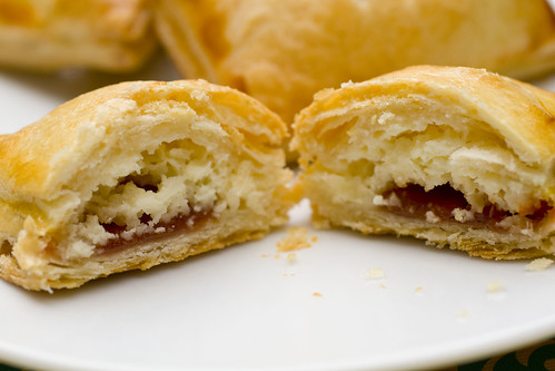 Guava Cheese Pastries cut open 6