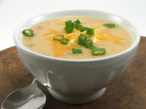 Tex-Mex Potato Cheese Soup