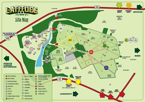 Latitude 2010: Site Map