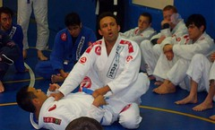 Renzo Gracie at his seminar in Fife, WA last Saturday