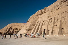 Abu Simbel Temples (schmaeche) Tags: lake temple see egypt nile nil aswan ramsesii nasser tempel abusimbel eg stausee ramessesii nefertari
