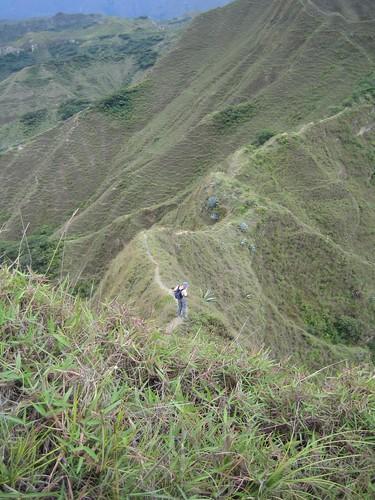 Roger on the ridge