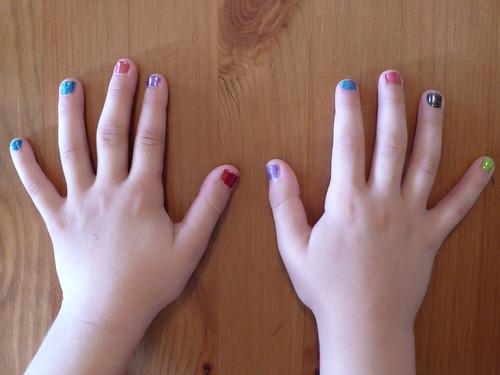 Daisy's manicure