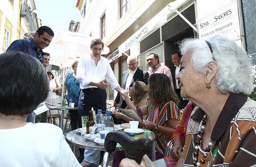 Pedro Passos Coelho arruada em Portalegre