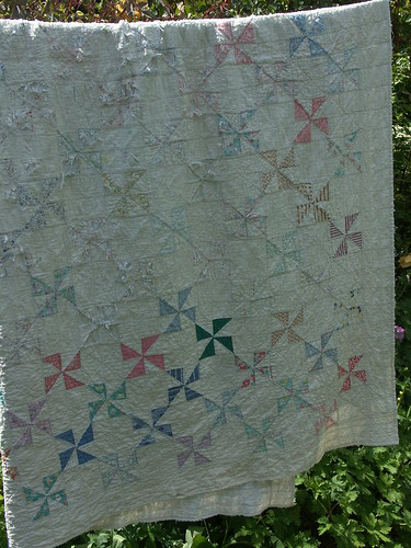 Shredded quilt