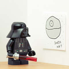 Ambition (Balakov) Tags: boy death star lego young darth wars vader stubby minivader