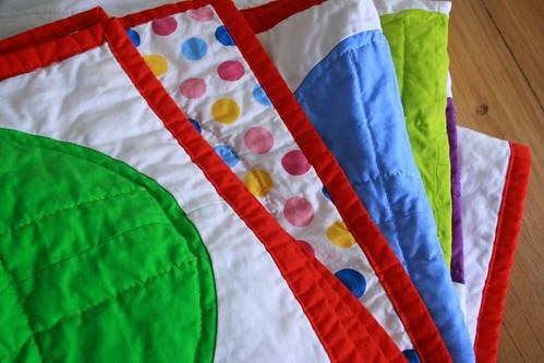 color dotty folded