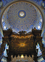 St. Peter's Baldachin Altar and Dome