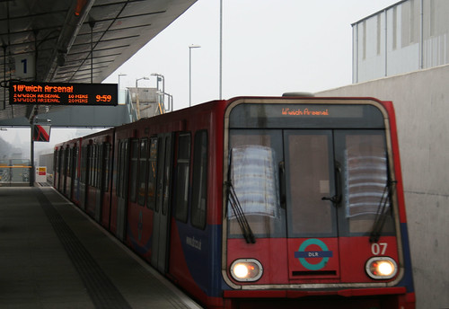 Trains for Woolwich