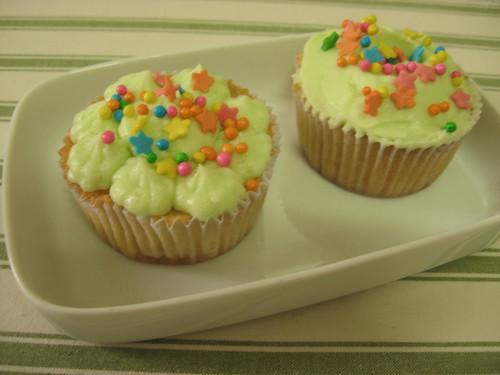 Cupcakes de limão