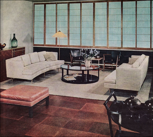 1953 Edward Wormley Living Room