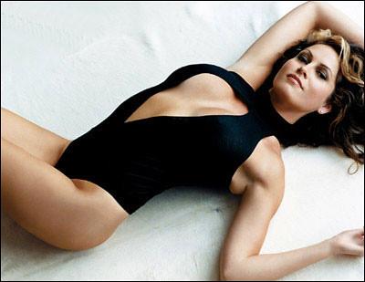 Lisa Guerrero in swimsuit